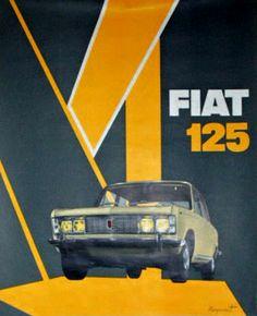 Guy Rougemont - Fiat 125, 1970.