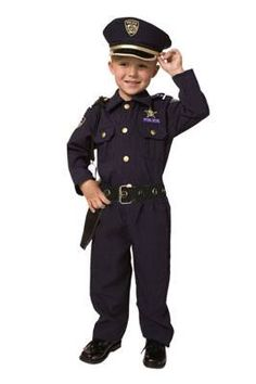 Little Boys' Deluxe Police Officer Costume 2T