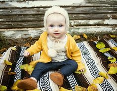 """A crisp, cloudy, autumn day... and babies in cardigans. """""""