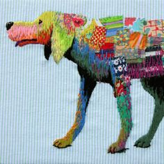 Very cool embroidery... #handembroidery #mrxstitch