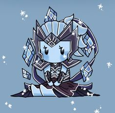 Ice Walker Inara from Paladins! My favorite show + favorite tank= best skin! Overwatch, Paladins Game, Paladins Champions, Game 3, Fighting Games, Best Games, Character Art, Chibi, Anime