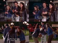 """""""these are rings, and the diamonds are actually candy so you can eat it"""" Gilmore Girls"""