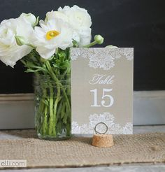 Free Wedding-Table Printables | POPSUGAR Smart Living