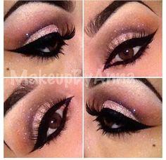 Make-up hellrosa Abschlussball 65 Ideen # Prom # kitch . - Prom Makeup For Brown Eyes Prom Makeup For Brown Eyes, Day Eye Makeup, Pink Makeup, Makeup Tips, Beauty Makeup, Makeup Ideas, Eyeliner Makeup, Makeup Tutorials, Hair Makeup