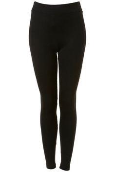Black Heavy Weight Leggings - Leggings  - Clothing