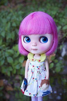 Blythe ✿✿✿ - omg, her little dress with pockets!
