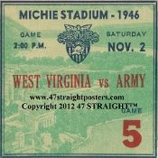 1946 Army Football Ticket Coasters.™ BEST Cyber Monday Gifts 2012! Cyber Monday gifts made from authentic football tickets. Our Football Ticket Coasters™ are the best Cyber Monday Gifts for football fans! http://www.bestcybermondaygifts.com/ Best Cyber Monday Gifts #cybermonday #cybermondaygifts #cybermondaydeals #bestcybermondaygifts #47straight