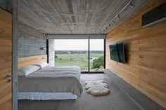 Golf House bedroom
