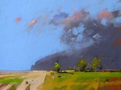 tony allain / Rain Clouds / pastel