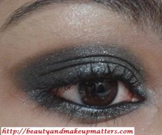 Eye Makeup Tutorial – Greyish Black Smokey Eyes