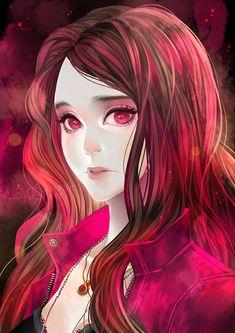 Scarlet Witch by luleiya.deviantart.com on @DeviantArt