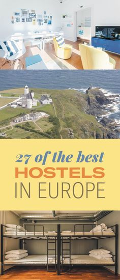 "27 Of The Best Hostels In Europe, According To Our Readers Use code ""PINME"" for 40% off all hammocks on our site maderaoutdoor.com"