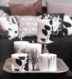 Loving the design on these candles. Effortless and natural! Nordic Interior, Interior And Exterior, Broste Copenhagen, Colour Pallette, Scandinavian Home, Letters And Numbers, Candle Making, Pillar Candles, Pure Products