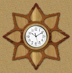 Free Scroll Saw Patterns by Arpop: Clocksn