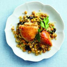 Chicken dinner with Mediterranean flare