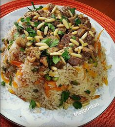 ARAP PİLAVI - MORBOSTAN Rice Dishes, Main Dishes, Nutritional Value Of Rice, Meat Recipes, Dinner Recipes, Turkish Recipes, Ethnic Recipes, Turkish Kitchen, Fat Foods