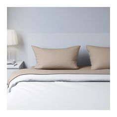"""IKEA - DVALA, Sheet set, Queen, , Cotton feels soft and nice against your skin.Fits mattresses with a thickness up to 10"""" since the fitted sheet has elastic edging."""
