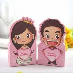 Wedding Candy Boxes Gift