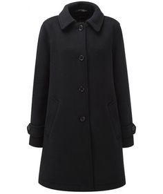 Womens Paddock Coat -- Navy