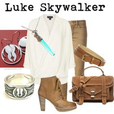 """Luke Skywalker"" by coloradomom on Polyvore"