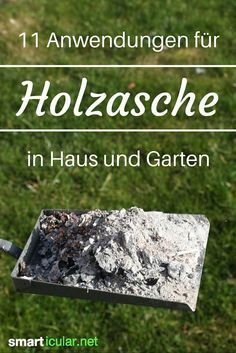 Holzasche nicht wegwerfen, sondern als vielseitiges Hausmittel verwenden Ash does not necessarily have to be disposed of. The right wood ashes you can continue to use useful in the household and solve many a problem with her .