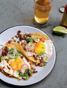 Chorizo Breakfast Tacos Recipe