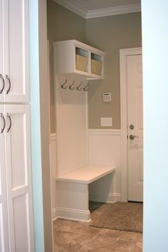 Mud room in a custom built home by Otero Signature Homes  www.oterohomes.com