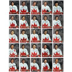 The Signed Team Canada '72 35th Anniversary Collector Card Set