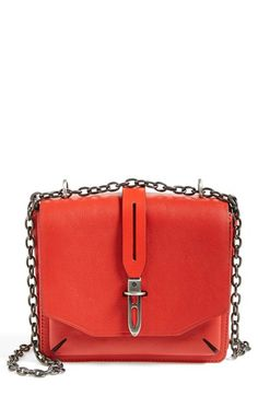 rag & bone 'Mini Enfield' Leather Crossbody Bag available at #Nordstrom