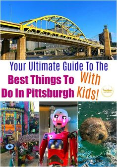 Here is your ultimate guide from Sunshine Whispers to the best things to do in Pittsburgh, Pennsylvania with kids. Pittsburgh is such a fun, family-friendly travel destination for kids and parents alike! There are so many fun activities for the kids to do! Find out what all you can do as a family that may interest your children in Pittsburgh because your family may enjoy a long weekend or even a week-long vacation there! #pittsburgh #pennsylvania #travel #traveldestinations #traveltips Weekend Trips, Long Weekend, Weekend Plans, Weekend Getaways, Travel With Kids, Family Travel, Visit Pittsburgh, Stuff To Do, Things To Do