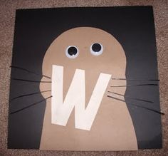 62 Best W Is For Letter Of The Week Images Preschool Alphabet