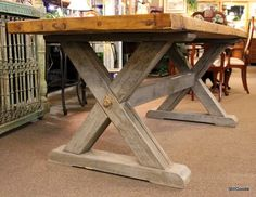 Farm table #FarmStyle #Table #StillGoode #Sold