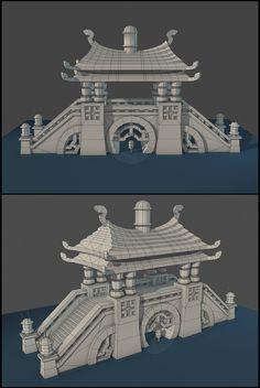 Prayer Bridge, Modularity - Polycount Forum