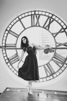 The ballerina that lives in a clock tower.  Fine Art Portraiture By novella.