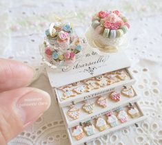 2017. 12 Miniature Patissiere Chest ♡ ♡ By pansbear
