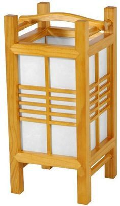 lanterns wooden japanese - Google Search