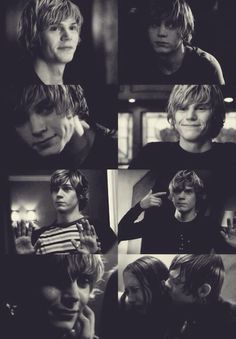 Evan Peters. Tate Langdon.
