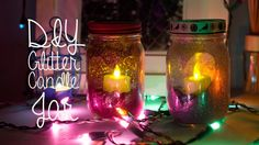 diy candle holders - Google Search