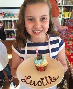 Happy birthday to this sweet chef!  #CupcakeWars #birthdaysatpatriciastable by patriciastable