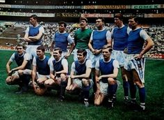 Sheffield Wednesday Football Club at the Azteca Stadium, June 1966.