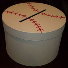Baseball Gift Card Holder. $130.00, via Etsy. o my lord... how much fun would a baseball wedding be     For Christina Kennedy