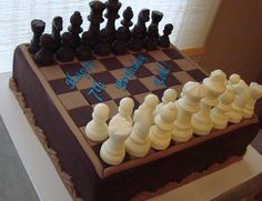 Chess cake (by Martha's Cake Creations)