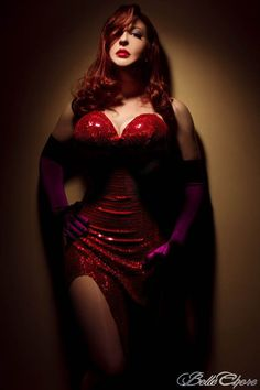 Jessica Rabbit..if I had the boobs I would totally be her for Halloween