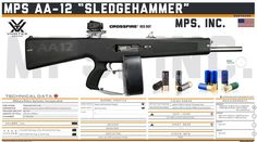 """Military Police Systems, Incorporated - MPS AA-12 """"Sledgehammer"""""""