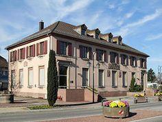 L'hôtel de ville Sausheim