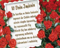 Beautiful Roses, Floral Wreath, Google, Motto, Youtube, Saint Name Day, Polish, Floral Crown, Mottos