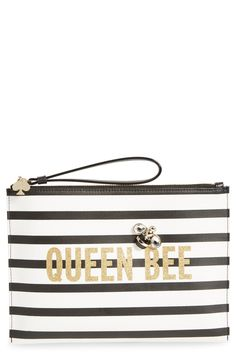 Crushing on this buzz-worthy wristlet for the one and only, queen bee.