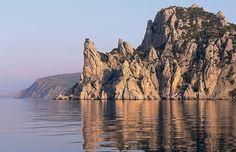 Ferry Sudak - Yalta. Monte Karaul-Oba