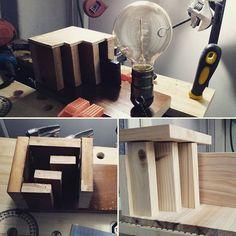 #제주앓이 를 날려버리려고 집에 오자마자 #조명스피커  #mockup 제작 중. #좋아하는일 을 하니 피곤함도 잊고 신난다.  #woodspeaker #edisonbulb #diy #prototype #lamp