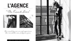 Check out Our L'AGENCE French Jean Blog post! Up now on the Ron Herman Blog! #Introducing the #FrenchJean by #LAGENCE